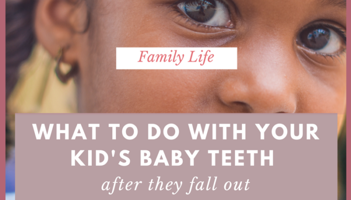 What To Do With Your Kid's Baby Teeth After They Fall Out
