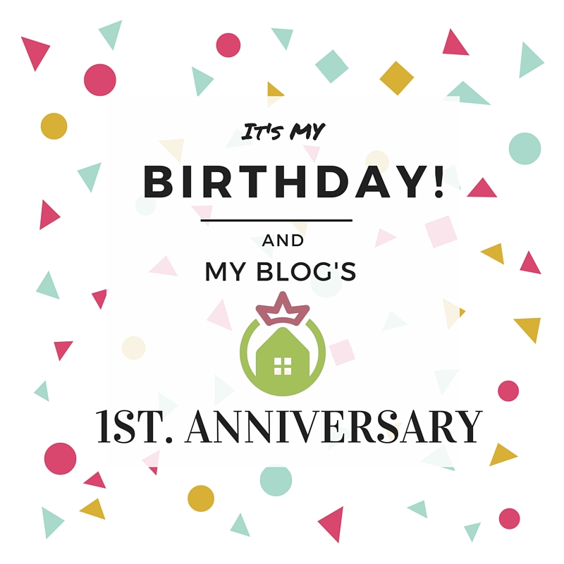 Happy Birthday to Me and my Blog