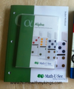 Math U See Alpha