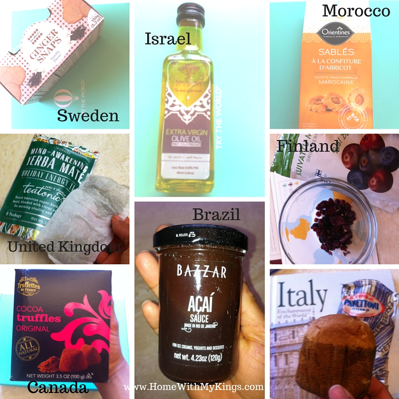 Try The World Holiday Box Collage