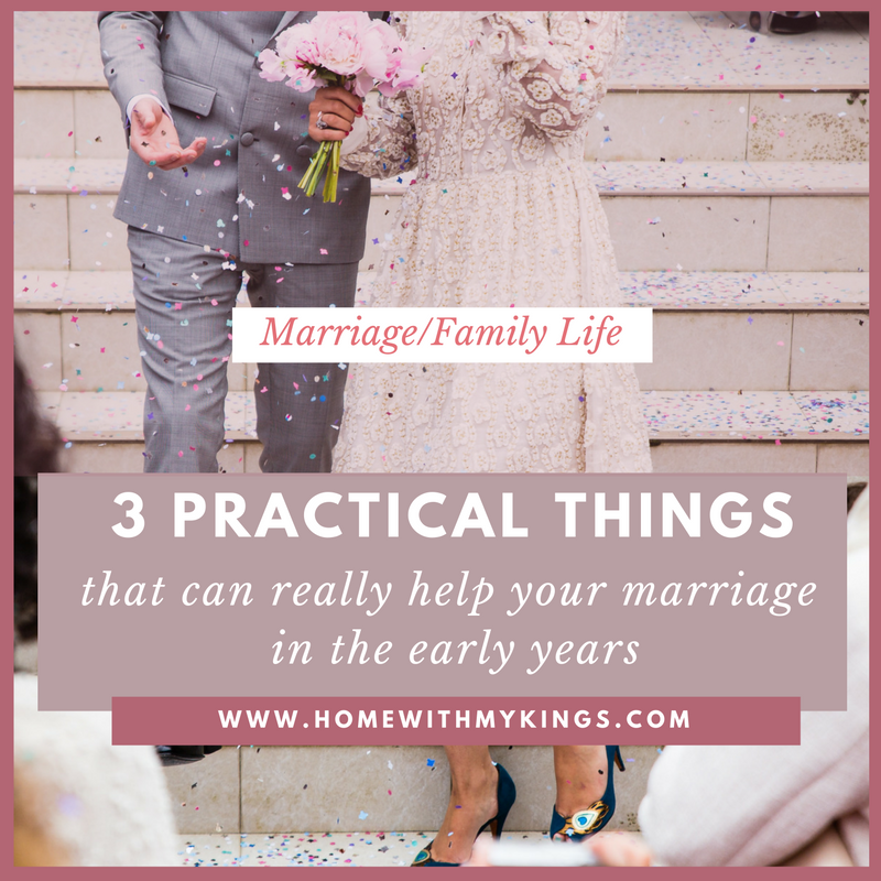 early marriages are practical The early years of marriage can bring some of the greatest joys—and biggest pitfalls whether a couple is talking about careers, finances, or intimacy, it's important that they learn how to communicate in healthy ways and overcome selfishness.