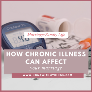 How Chronic Illness Can Affect Your Marriage