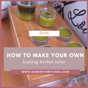How to Make Your Own Neosporin (Herbal Salve)