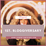 Happy Birthday to Me and My Blog Anniversary!