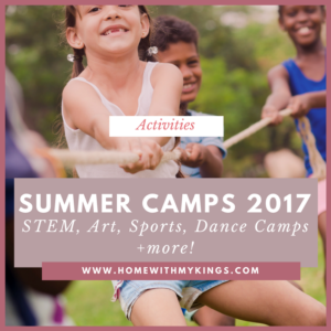 Summer Camps 2017: STEM, Art, Dance, Sports Camps + More!