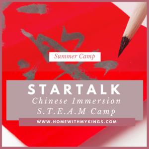 Summer Camp Review: STARTALK Chinese STEAM Camp 2017